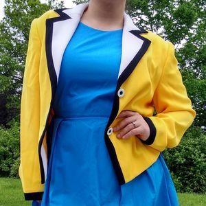 3/$25 SALE VTG Nygård Collection 80s yellow blazer
